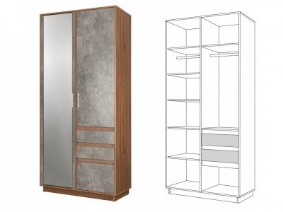 Шкаф для одежды 10.73 Леон