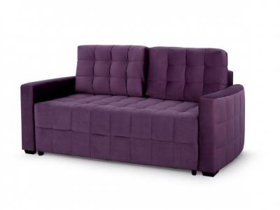 Диван Бремен 1 2 вариант Фиолетовый велюр