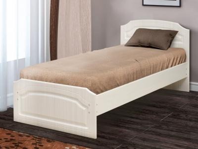 Кровать одинарная Венеция 3 матовая