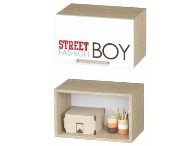 Шкаф антресольный Сенди АН-03 484х300х302 для мальчика