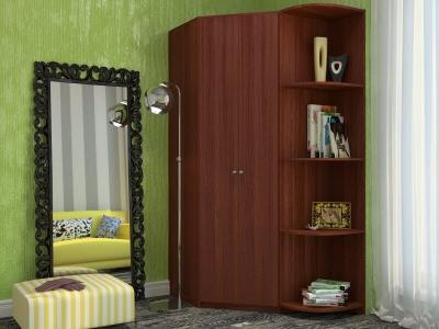 Угловой шкаф Мария с угловым элементом орех итальянский