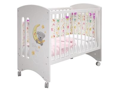 Кроватка детская Софи базовая Лунный мишка