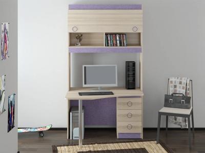 Угловой письменный стол с надстройкой Индиго ГН-145.013